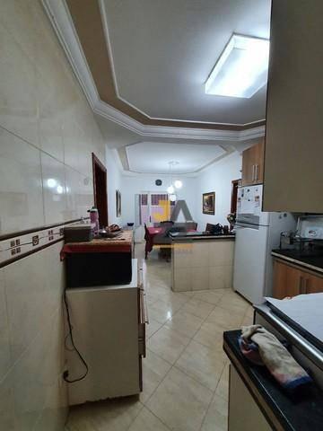 Linda Casa Com 3 Dormitórios À Venda, 140 M² Por R$ 610.000 - Parque Novo Mundo - Americana/sp - Ca13787