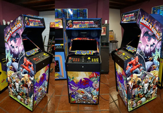 Fichin Arcade Videojuego Multijuegos Led 16000 Juegos+rockola Videoclips, Karaoke, Pantalla Led 19