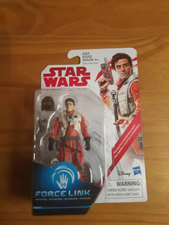 Star Wars The Last Jedi Force Link Poe Dameron