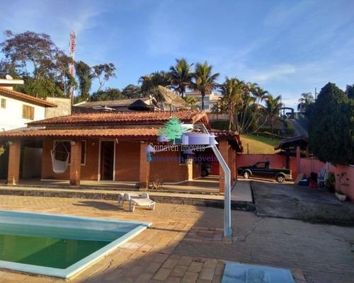 Casa Com Piscina Em Atibaia - Ao Lado Da Fernão Dias. - Ch00765