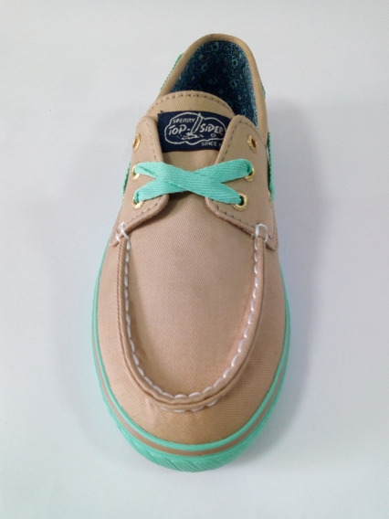 Sperry Top Sider Casual Lona Dama