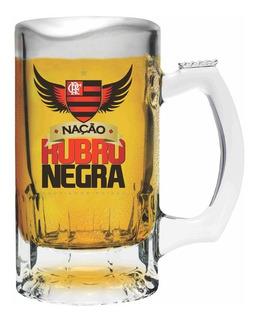 Caneca De Cerveja Flamengo Oficial Rubro Negra Mengao