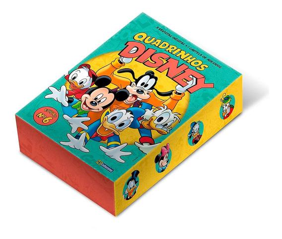 Quadrinhos Disney Culturama Edição 6 Box De Colecionador
