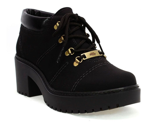 Sapato Feminino Karuna Preto Dakota