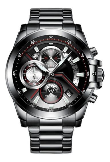 Relógio De Luxo Masculino Cadisen