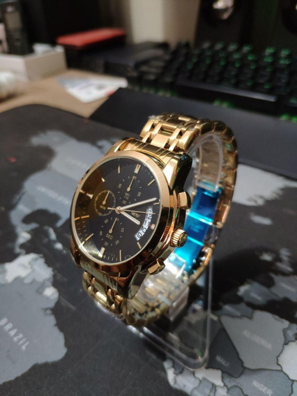 Relógio Dorado De Luxo