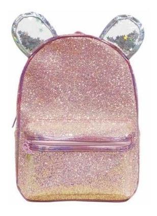 Mochila Espalda Fancy Glitter 15 Pulgadas Cresko
