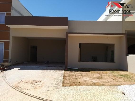 Casa Térrea Em Fase De Acabamento À Venda No Condomínio Residencial Real Park, Em Nova Veneza, Sumaré - Sp!!! - Ca00777 - 34466151