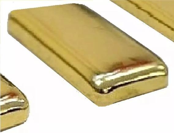 Barra De Ouro 18k 0,25g (1/4 De Grama) Silicite Mais Pesos