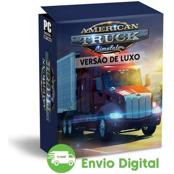 American Truck Simulator Pc - Simulador Caminhão Envio Já