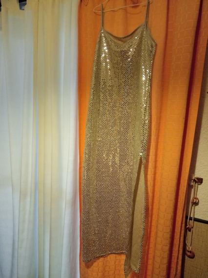 Vestido Fiesta Mujer Espejado