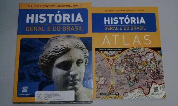 Historia Geral E Do Brasil Com Atlas