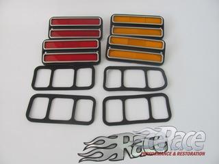 Chevrolet 67-72 Kit De Cuartos Laterales 4 Piezas
