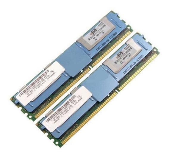 Ibm 4gb (2x2gb) Pc2-5300f Ddr2 X3400 X3550 X3650 M0 Hs21