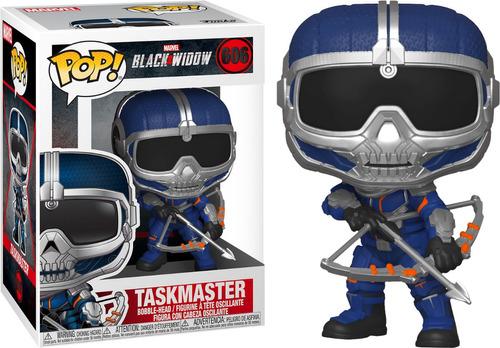Funko Pop! Marvel #606 Black Widow Taskmaster (bow) Nortoys