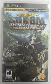 Socom U.s.navy Seals: Jogo Para Psp Em Umd - Original Usado