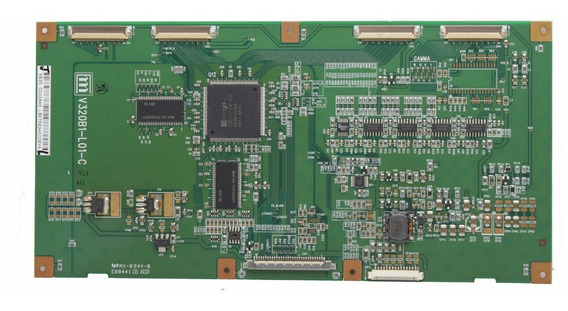 Placa Tecom Tv Gradiente Lcd-3230 V320b1-l01-c
