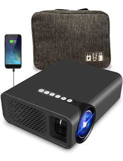 Proyector Hd Led Wifi Espejo iPhone Android 2200 Lumens Maletin Incluido
