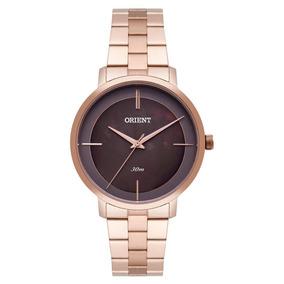 Relógio Feminino Analógico Orient Frss0029-n1rx - Rosé