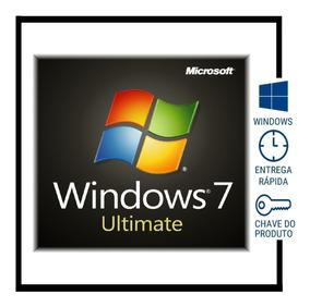 Windows 7 Ultimate Chave Licença Original Ativa Por Telefone