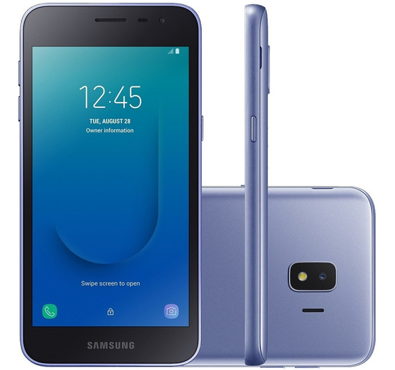 Smartphone Samsung Galaxy J2 Core Sm-j260mz 16gb Prata