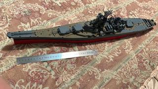 Modelo A Escala Barco Acorazado Ruso 78 Cm De Largo