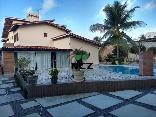 Casa Em Condomínio Fechado Com 343m² De Área Construída  Em Terreno De 1.033m² - Ca2732
