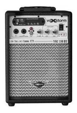 Caixa Multiuso Voxstorm Vsu-150 Usb Vsu150 15w 6