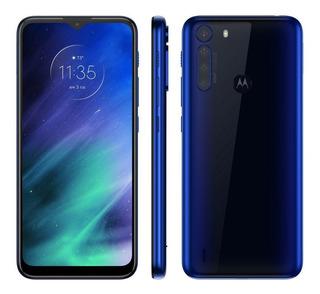Smartphone Motorola One Fusion 64gb 4gb Ram 5000 Mah