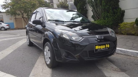 Ford Fiesta Hatch 1.0 Flex Preto 2013 Doc Ok