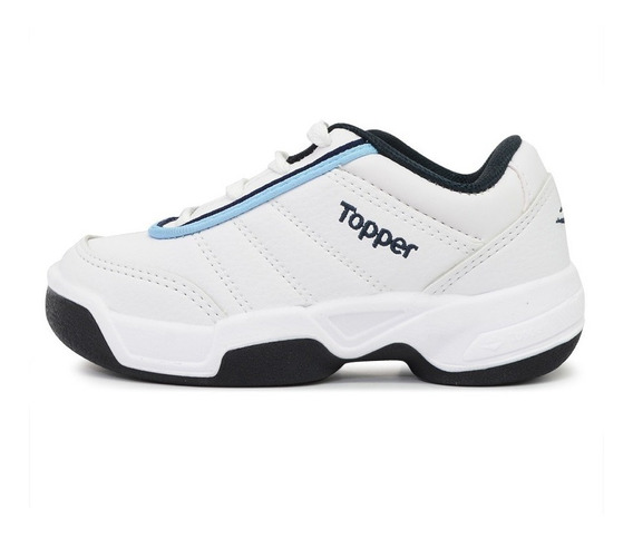 Zapatillas Topper Tie Break Ii Blanco Niño