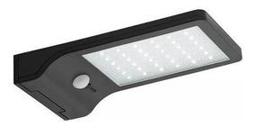 Lampada De Parede Solar C/36 Leds Luminária Sensor Movimento