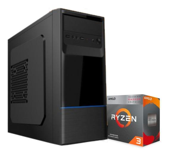 Computador Amd Ryzen 3 3200g Am4 A320m 8gb Ssd 120gb 230w