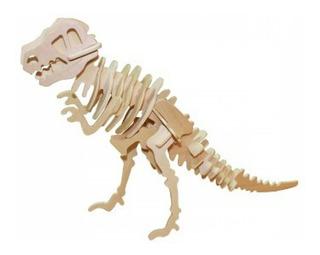 Rompecabezas Maqueta 3d Dinosaurio Tiranosaurio Rex Grande