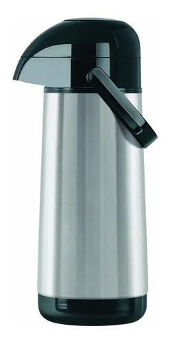 Termo Termolar Lumina Bomba Acero 1 Litro Tienda Pepino Inoxidable Vidrio Catering Frio Calor Temperatura Mate
