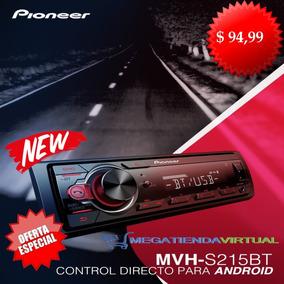 Radio Pioneer Mvh-s215bt Bluetooth Usb iPhone/andoid