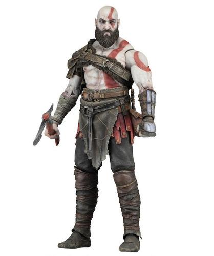 Kratos God Of War 4 Accesorios Loose Original Neca!