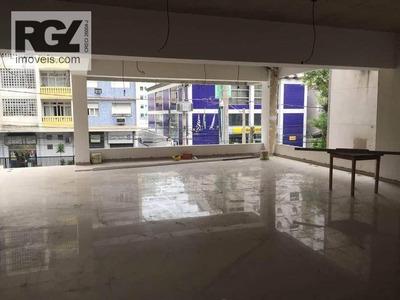 Prédio Comercial Para Locação, Pompéia, Santos. - Pr0019
