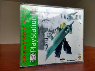 Final Fantasy 7 / Vii Ps1 Black Label