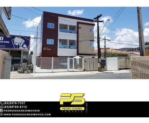 Imagem 1 de 10 de Apartamento 2 A 3 Dormitórios À Venda, 55 M² A Partir De R$ 174.990 - Cristo Redentor - João Pessoa/pb - Ap5126