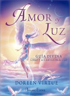 Amor Y Luz Guia Divina ( Libro + Cartas ) Oraculo - Virtue D