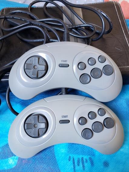 Controles 6 Botões - Mega Drive
