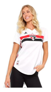 Camiseta adidas São Paulo I Feminina 2019/2020 - Original