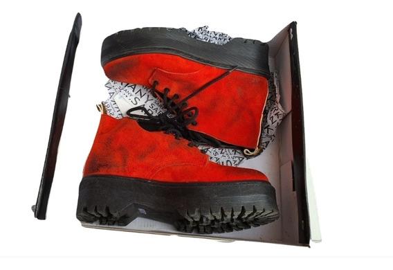 Zapatos Borcegos Sarkany Gamuzados 36