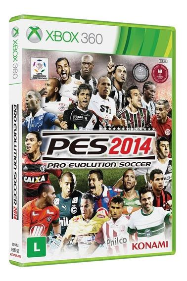 Jogo Pro Evolution Soccer 2014 - Pes 14 - Xbox 360 - Raro