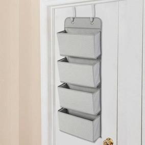 Gray - Zapatos De Almacenamiento Sobre Clara Puerta Col-4209