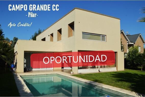 Casa En Venta En Campo Grande Club De Campo, Pilar