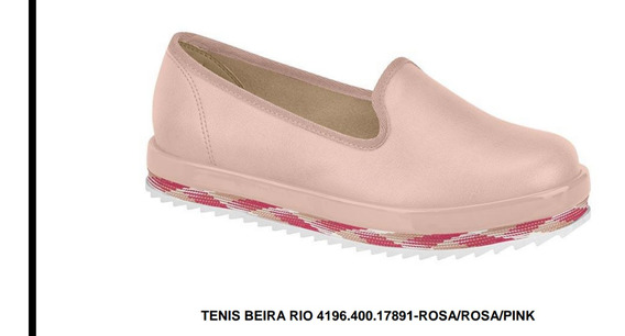 Tênis Beira Rio 4196.400.17891 / Cor: Rosa Pink
