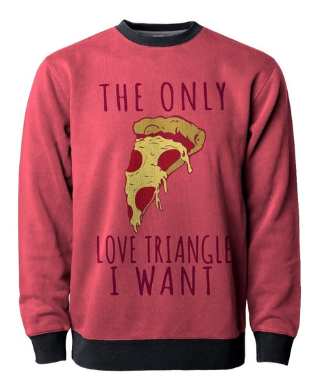 Blusa Moletom Pizza Triangle Fofo Cute Tumblr Sweet Mt