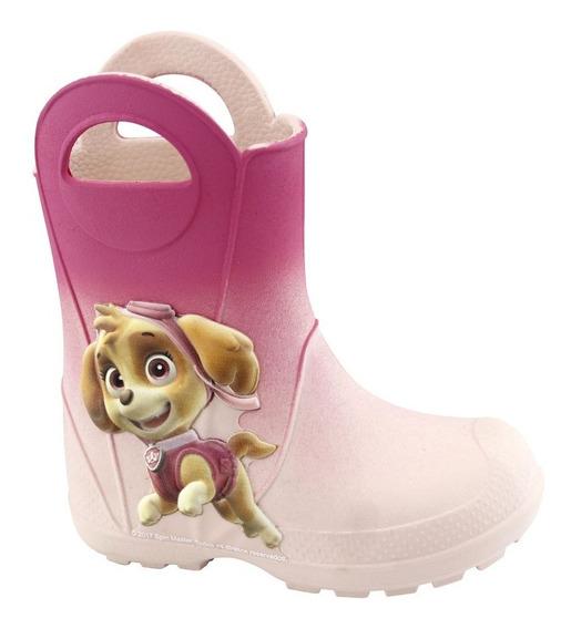 Galocha Plugt Patrulha Canina Skye Infantil - Rosa/pink